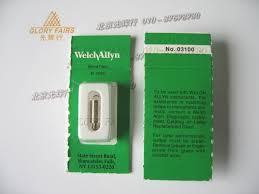 welch allyn 03100 halogen l 3 5v 2 7w otoscope laryngoscope