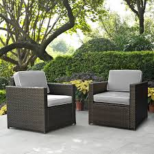 Crosley Furniture Palm Harbor 2 Piece Outdoor Wicker Seating Set ... Red Barrel Studio Dierdre Outdoor Wicker Swivel Club Patio Chair Cosco Malmo 4piece Brown Resin Cversation Set With Crosley Fniture St Augustine 3 Piece Seating Hampton Bay Amusing Chairs Cushions Pcs Pe Rattan Cushion Table Garden Steel Outdoor Seat Cushions For Your Riviera 4 Piece Matt4 Jaetees Spring Haven Allweather Amazoncom Festnight Ding Of 2