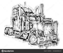 100 American Truck Equipment Illustration Isolated Art Stock Photo Maxtor7777
