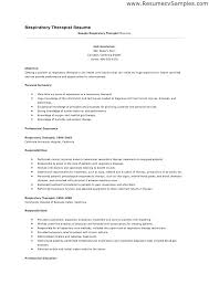 Massage Therapist Sample Resume Respiratory Examples And Free
