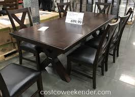52 Costco Dining Room Table, Dining Table: Costco Dining Table Set ... Fniture Perfect Solution For Your Ding Room With Foldable Nobby Design Klaussner Home Furnishings Costco 639057 Use The Ymmv Instore Members Bolton 9piece Set For 699 Table Outdoor Chairs Clearance Round Adorable Wicker Seat Pads Folding Wooden Tables Modern Spaces Style Elegant Inspiring New Gas Fire Pit 52 Reviravolttacom Patio Sets Kids Colorful 34 Exceptional Live Edge Coffee