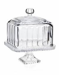 Pedestal Cake Plate With Dome Foter