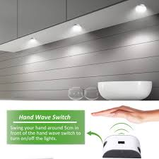 6 x 2w led cabinet light wave activated 1020lm