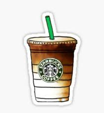 210x230 Starbucks Coffee Drawing Stickers Redbubble