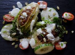 tendresse en cuisine recette de la salade grillée la tendresse en cuisine