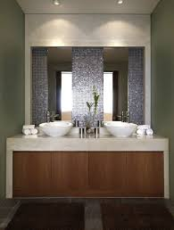 Blue Mosaic Bathroom Mirror by Bathrooms Design Bathroom Mirrors Modern Contemporary Looking