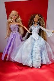 Disneys Barbie Doll Queen Elsa And Princess Anna NIB