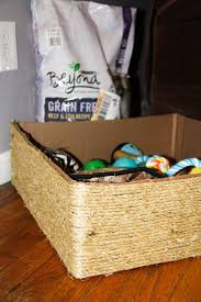 dog toy box diy dog toy bin simple and easy to make