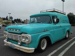 Seattle's Parked Cars: 1959 Ford Panel Truck