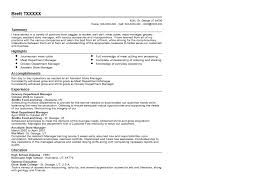 Department Manager Resume Examples Tier Brianhenry Co Rh