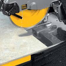 Diamond Bullnose Tile Blade by Dewalt D24000k Tile Saw Stand Diamond Blade Kit Contractors Direct