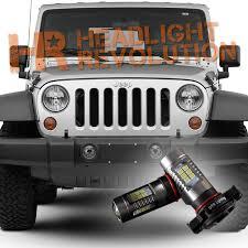 2007 2017 jeep wrangler jk led fog light bulb upgrade level 1