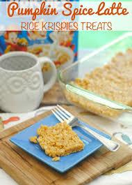 Pumpkin Spice Frappuccino Gluten Free by Pumpkin Spice Latte Rice Krispies Treats This Mama Loves