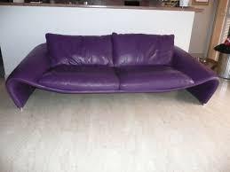 canape violet achetez canapé cuir 3 places occasion annonce vente à 06