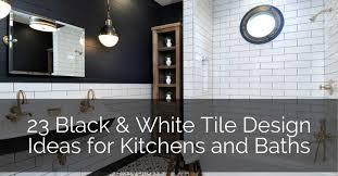 Bathroom Floor Design Ideas 23 Black White Tile Design Ideas Sebring Design Build