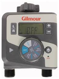 Orbit Hose Faucet Timer by Gilmour 1 Dial Dual Outlet Hose Faucet Watering Timer 400gtd