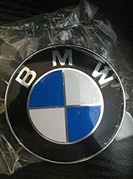original bmw emblem logo für die motorhaube incl tüllen