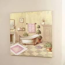deko dekoration bild gemälde quadratisch für badezimmer