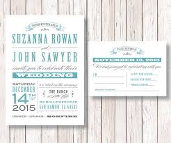 Rustic Wedding Invitation And RSVP Card Printable DIY Old Fashioned The Nashville Collection