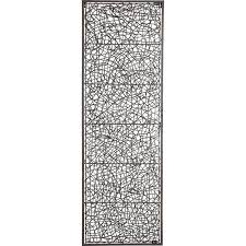 Metal Rattan Wall Decor