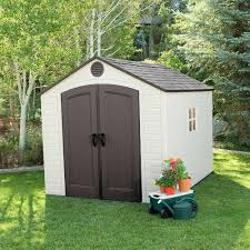 Keter 10x8 Stronghold Shed by Lifetime 8 Ft W X 10 Ft D Storage Shed 6405 Walmart Com