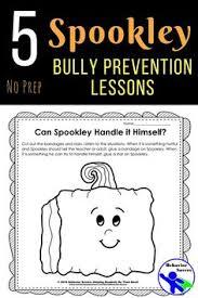 Spookley The Square Pumpkin Writing Activities by Spookley The Square Pumpkin Bully Prevention Unit Kindergarten