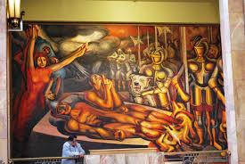 David Alfaro Siqueiros Murales by File Tormento De Cuauhtémoc Jpg Wikimedia Commons