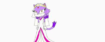 cat wedding dress blaze the cat wedding dress by poppetrocks278 on deviantart