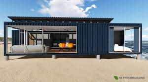 100 Homes Shipping Containers 40FT Modified Container House China Container