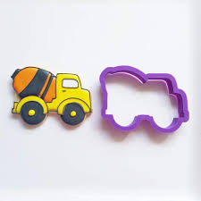 Cement Truck 03 Truck Cookie Cutter Fire 5 Inch Coated By Global Sugar Art Amazoncom Grandpas Old Farm Pickup Kitchen Cutters Jb Custom Exclusive How To Make Ice Cream Cookies Semi Sweet Designs Dump Arbi Design Cookiecutz Food 375 In Experts Since 1993 Truck And Products Set The Shop Little Blue Cnection