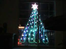 Virtual Two Dimensional Outdoor Christmas Tree