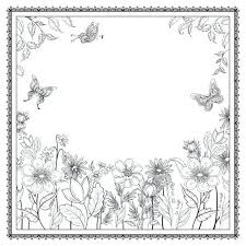 Flower Garden Coloring Pages For Adults Secret Pdf Inspirational Enchanted Forest Books Grown
