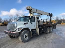 2008 International 7400 Crane Truck With National 600E2 Crane For ...