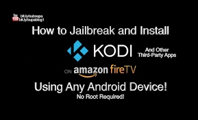 HOW TO JAILBREAK AMAZON FIRESTICK with your ANDROID PHONE or TABLET No puter Needed