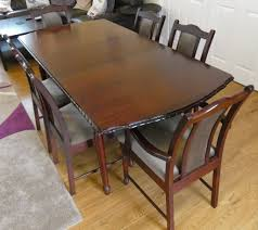 Solid Wood Mahogany Finish Extendable Dining Table With 6 Chairs ... Shop Psca6cmah Mahogany Finish 4chair And Ding Bench 6piece Three Posts Remsen Extendable Set With 6 Chairs Reviews Fniture Pating By The Professionals Matthews Restoration Tustin Chair Room Store Antoinette In Cherry In 2019 Traditional Sets Covers Leather Designs Dark Superb 1960s Scdinavian Design Rose Finished Teak Transitional Upholstered Mahogany Ding Room Chairs Lancaster Table Seating Wooden School House Modern Oval Woptional Cleo Set Finish Home Stag Extending Table 4