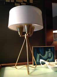 Stiffel Floor Lamps Ebay by Vtg Mid Century Lightolier Atomic Tripod Gerald Thurston Versen