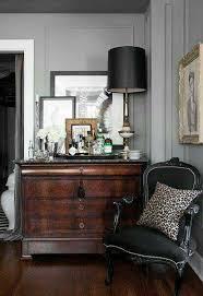 black masculine leopard wohnzimmer einrichten