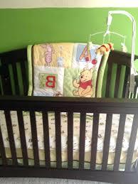 Winnie The Pooh Nursery Themes by Winnie Pooh Crib Bedding Poohs Musical Mobile 4 Crib Set Includes