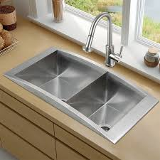 Overmount Double Kitchen Sink by Sinks Extraordinary Top Mount Apron Front Sink Top Mount Apron