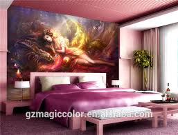 Sexy Girl Dragon Godness Bedroom Backgrond Decor Wallpaper Murals View