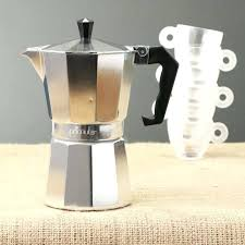 Stovetop Coffee Maker Frenchpresscom Espresso Cappuccino Unique Machine Made In Italy Stainless