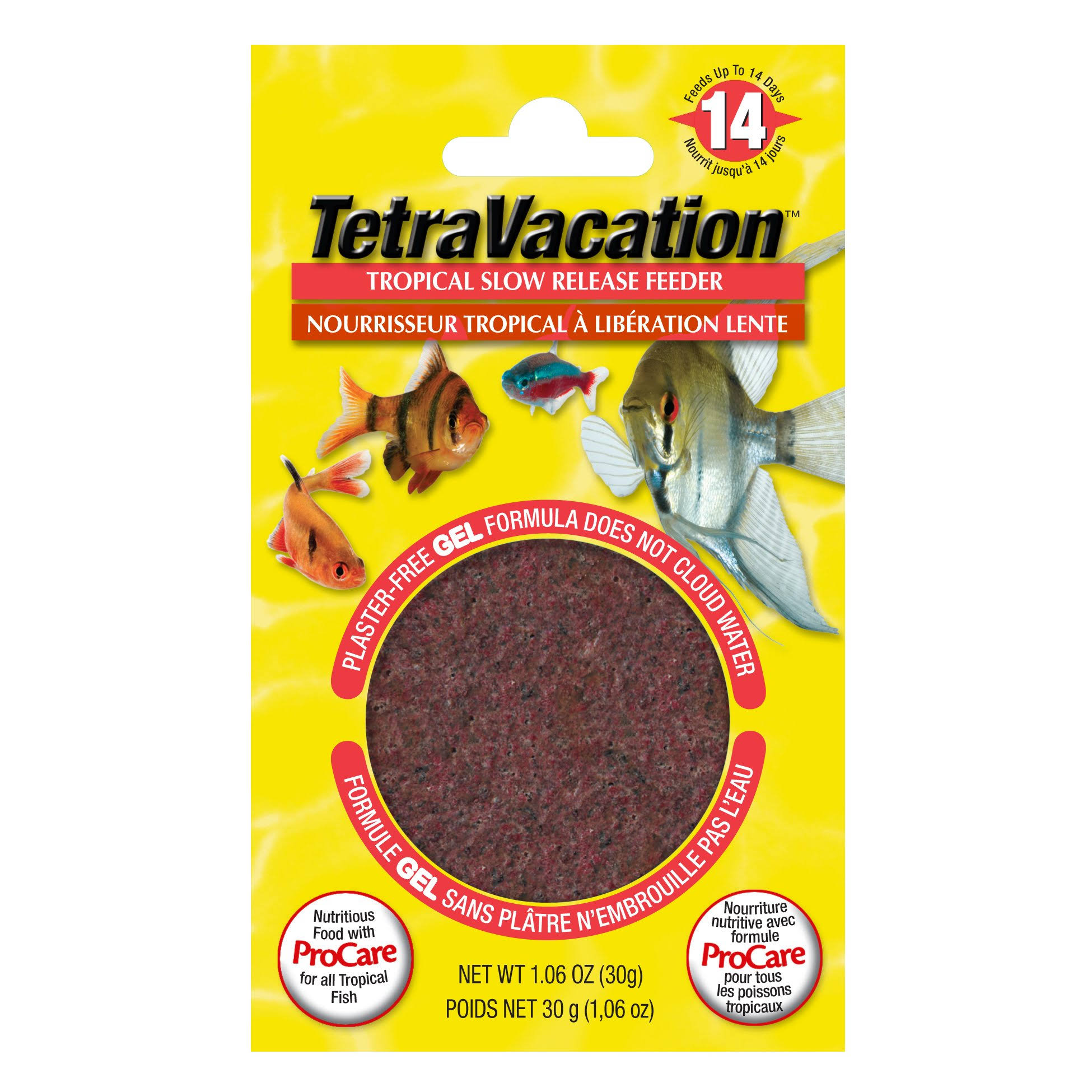 Tetra Vacation Gel Feeder - 30g