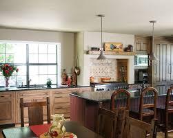 free standing range kitchen rustic with walker zanger tile in