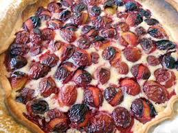 dessert aux quetsches recette recette de tarte aux prunes crème d amande