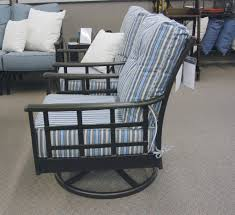 Hanamint Stratford Outdoor Patio Estate Swivel Rocker Club Chair ...