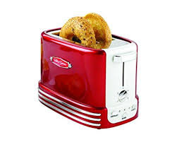 Nostalgia RTOS200AQ Bagel Toaster Aqua Blue
