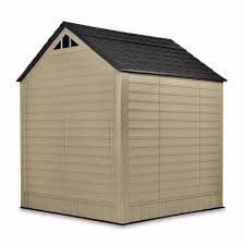 rubbermaid 7 x 7 resin shed at menards