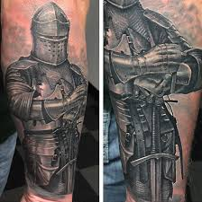 Knight By Steve Morris TattooNOW