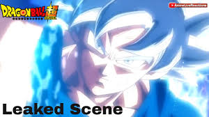 Ul Mastered Goku Vs Jiren Leaked Scene Dragon Ball Super Episode 129