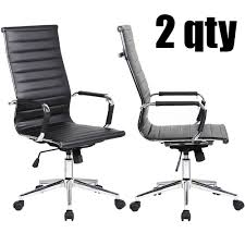 2xhome - Set Of 2 Designer Boss PU Leather With Arms Wheels Swivel ... Boss Executive Button Tufted High Back Leatherplus Chair Bosschair China Adjustable Office Hxcr018 Guide How To Buy A Desk Top 10 Chairs Highback Modern Style Ergonomic Mesh Lovely Chesterfield Directors Oxblood Leather Captains Black Swivel With Synchro Tilt Shop Traditional Free Shipping Luxuary Mulfunctional Luxury Huntsville Fniture